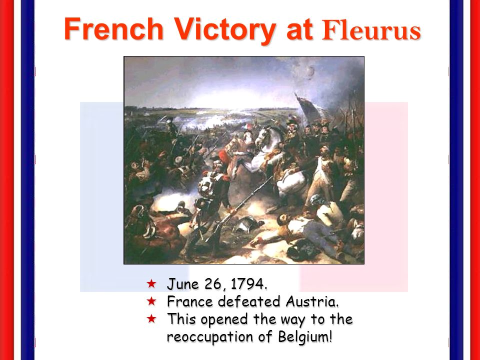 The Terror Intensified: March to July, 1794 ÔLaw of 22 Prairial [June 10, 1794]. Trials were now limited to deciding only on liberty OR death, with de