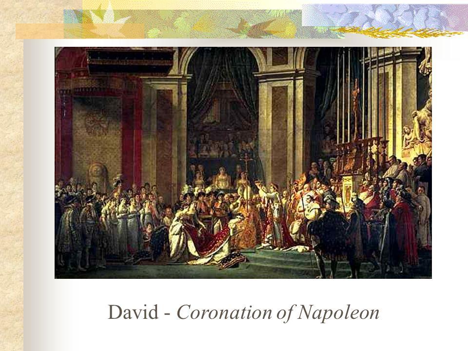 David Napoleon Crossing Saint Bernard