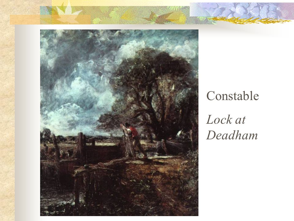 Constable – Flatford Mill, 1817
