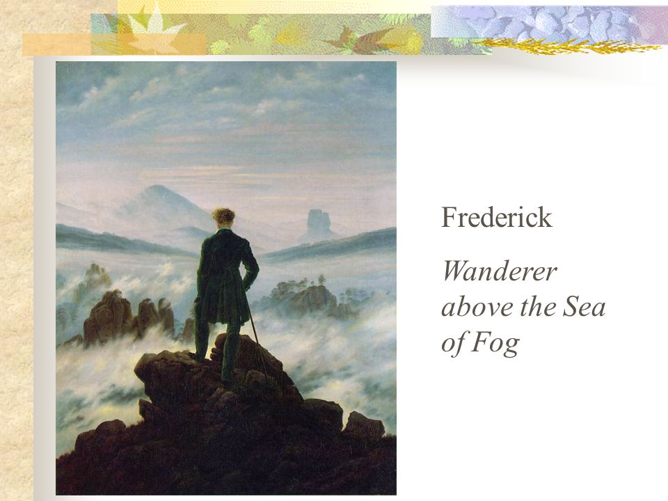 Melancholy and symbolic landscapes. Used light to unify the mood of his landscapes and other works.