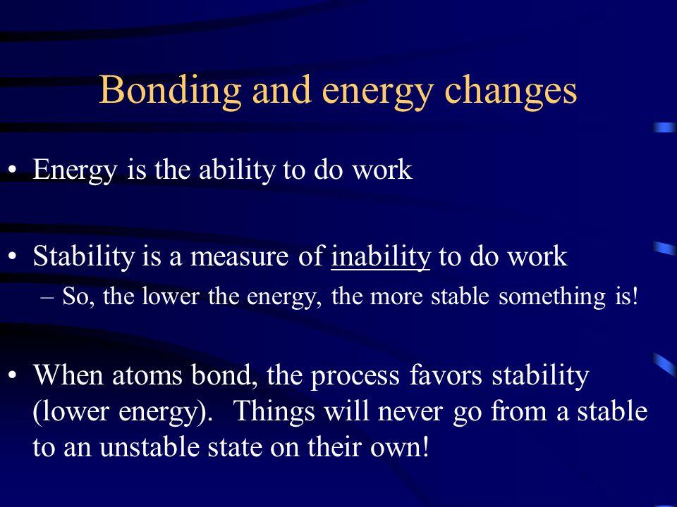 Energetics of Ionic Bonding These phenomena also helps explain the octet rule.
