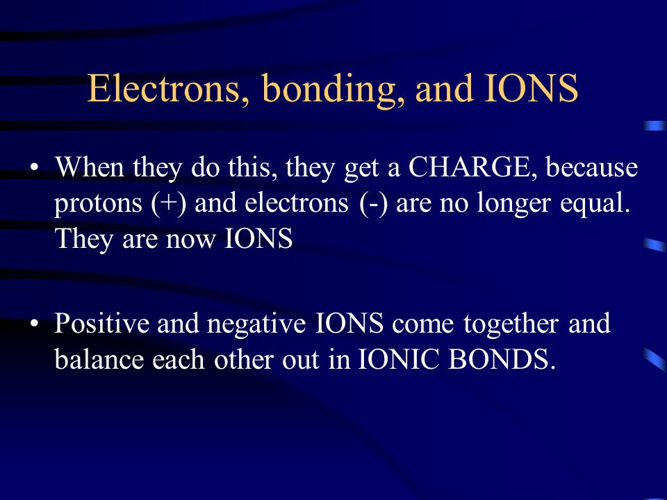 Cations and Anions Remember : + + A plussy cat An antion