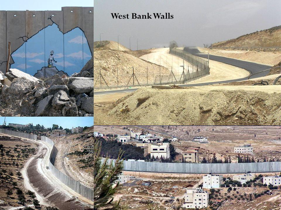 West Bank Walls