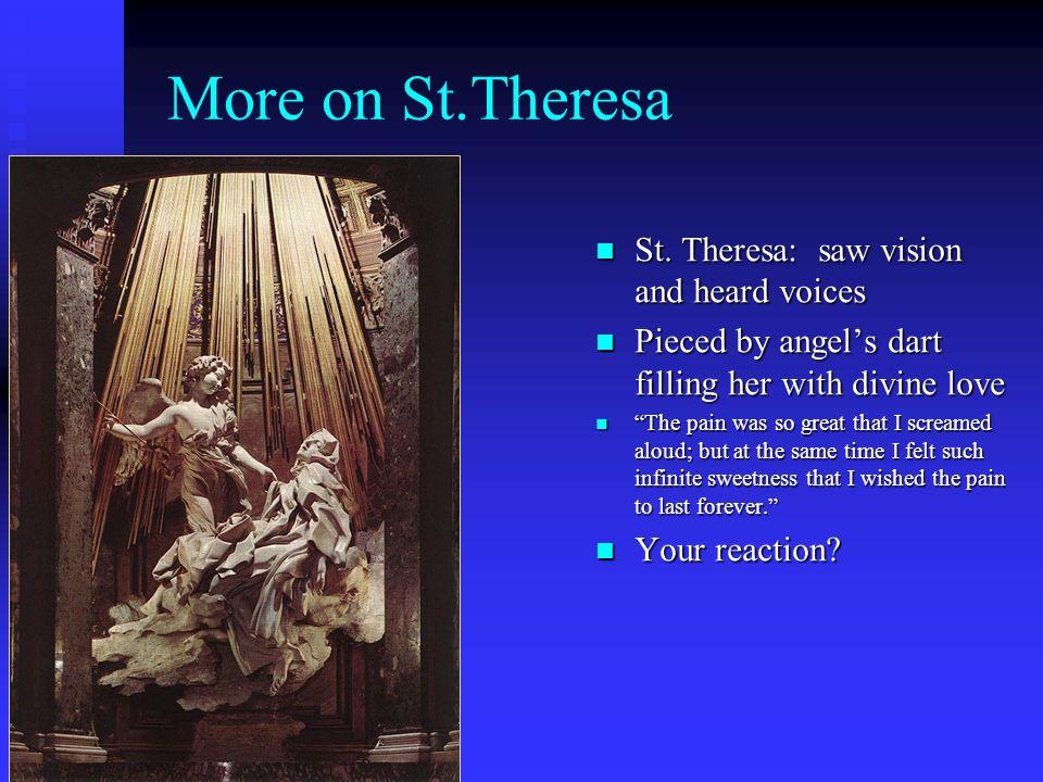 The Ecstasy of St. Theresa of Avila by Gianlorenzo Bernini 1647-52