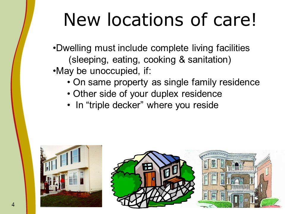 4 New locations of care.