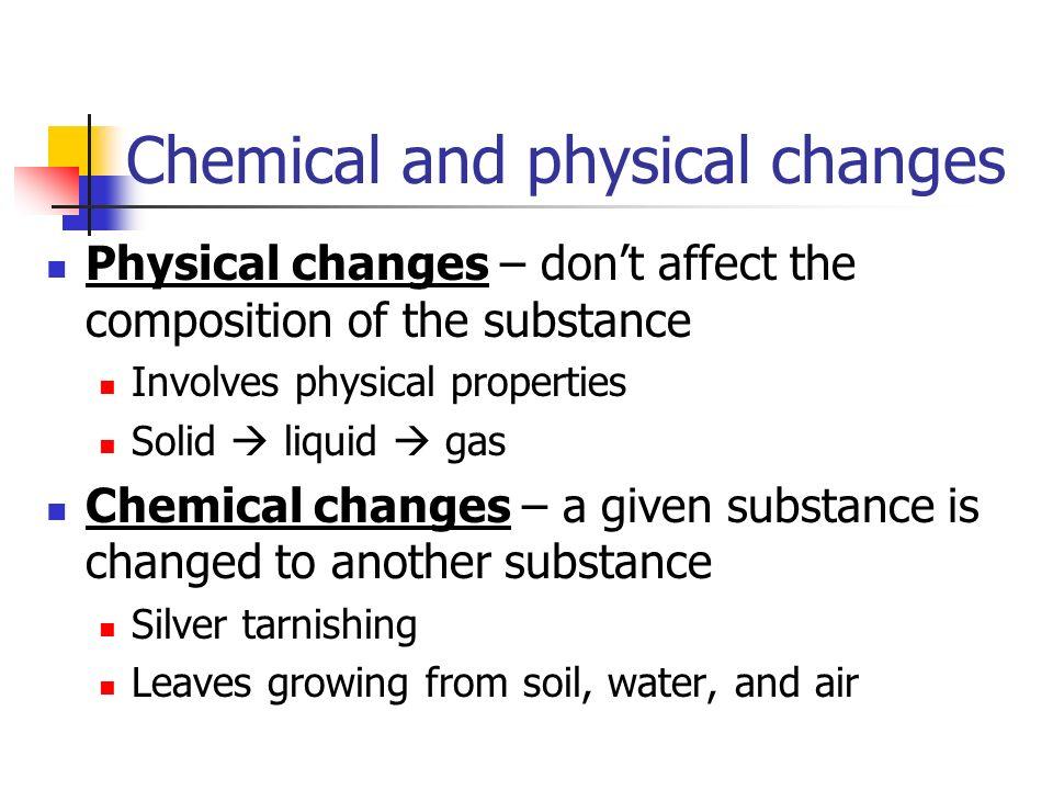 Intensive vs Extensive Properties Extensive Depend on how much substance Mass, length, volume Intensive Inherent quality of substance Density, odor, c