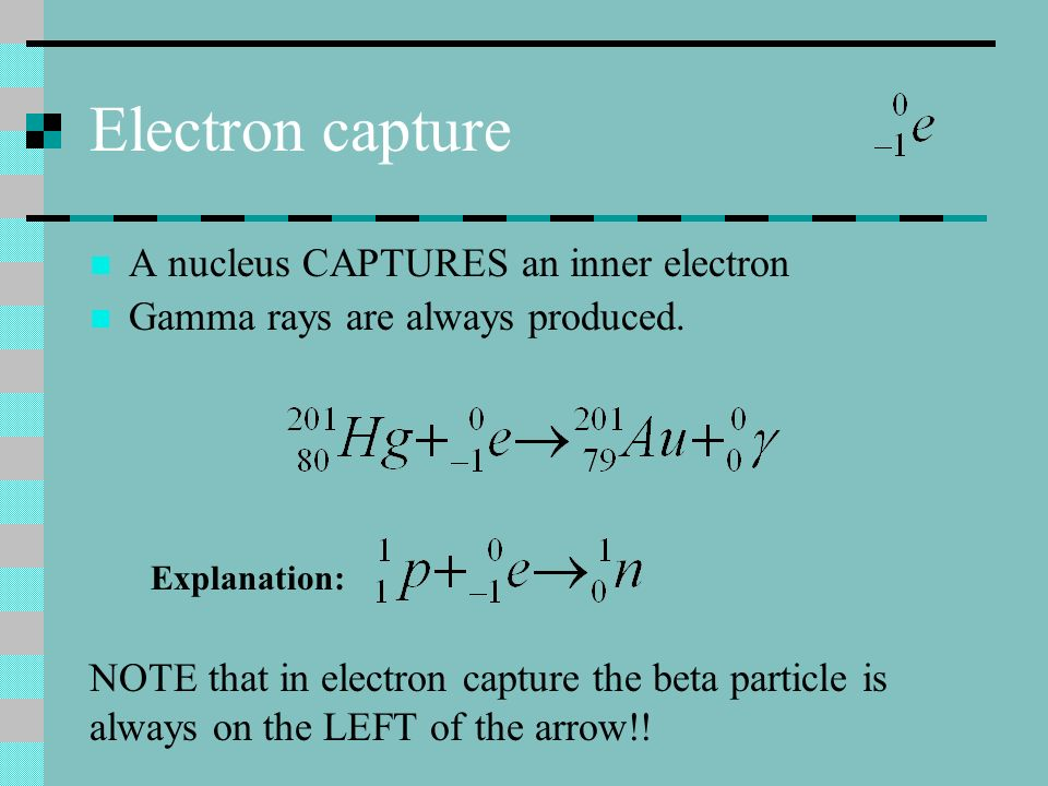 Positrons A particle with the same mass as an e - but a positive charge: Positrons are anitmatter! Example: