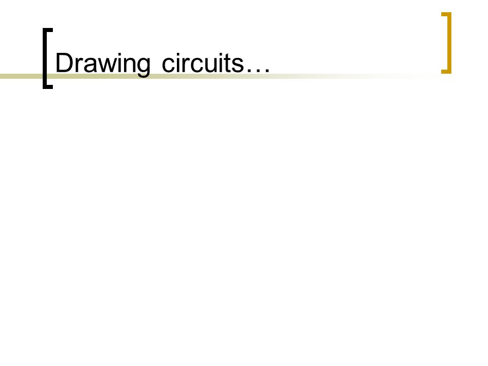 Drawing circuits…