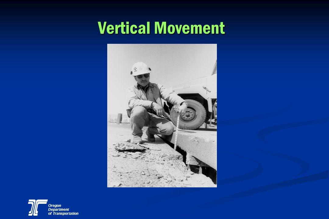 Oregon Department of Transportation Vertical Movement