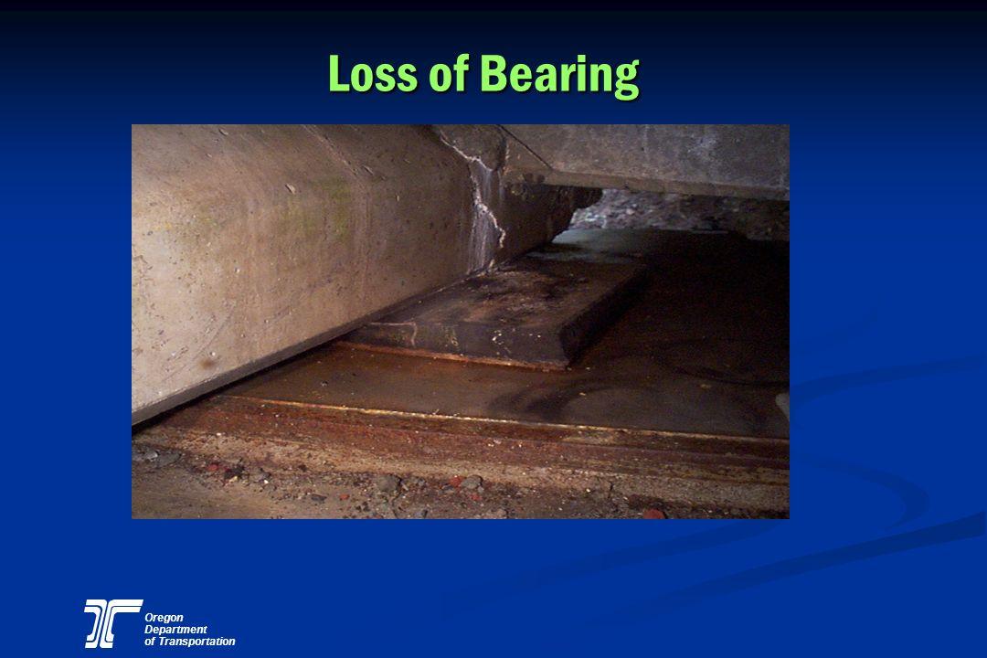 Oregon Department of Transportation Loss of Bearing