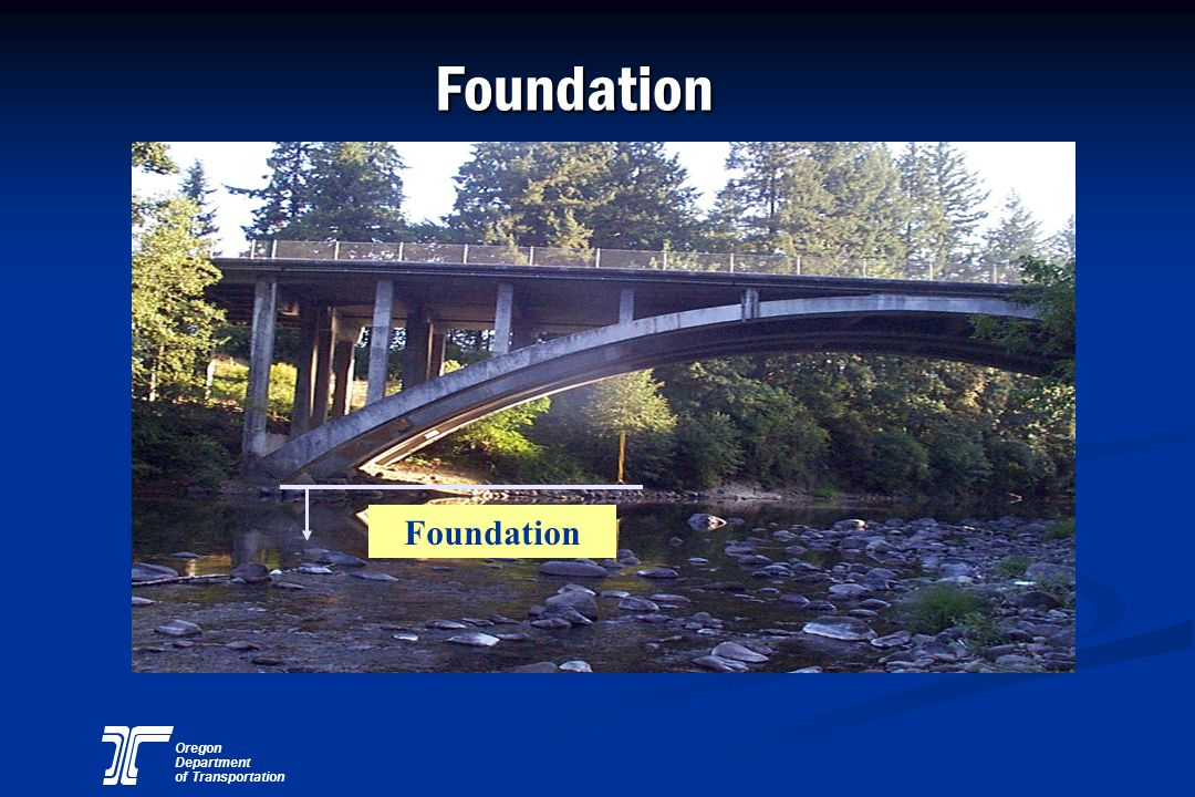 Oregon Department of Transportation Foundation Foundation
