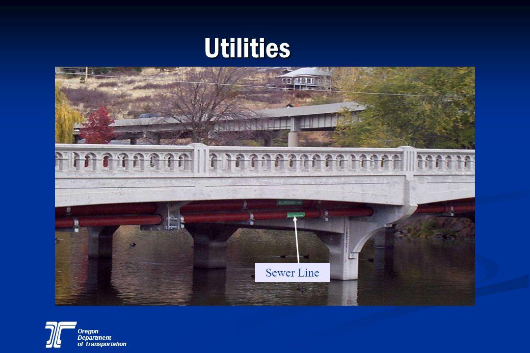 Oregon Department of Transportation Utilities Sewer Line