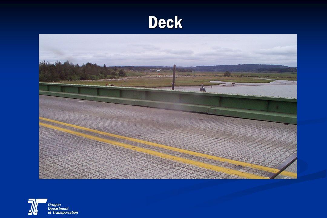Oregon Department of Transportation Concrete Column