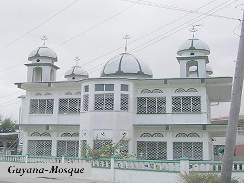 Guyana-Mosque