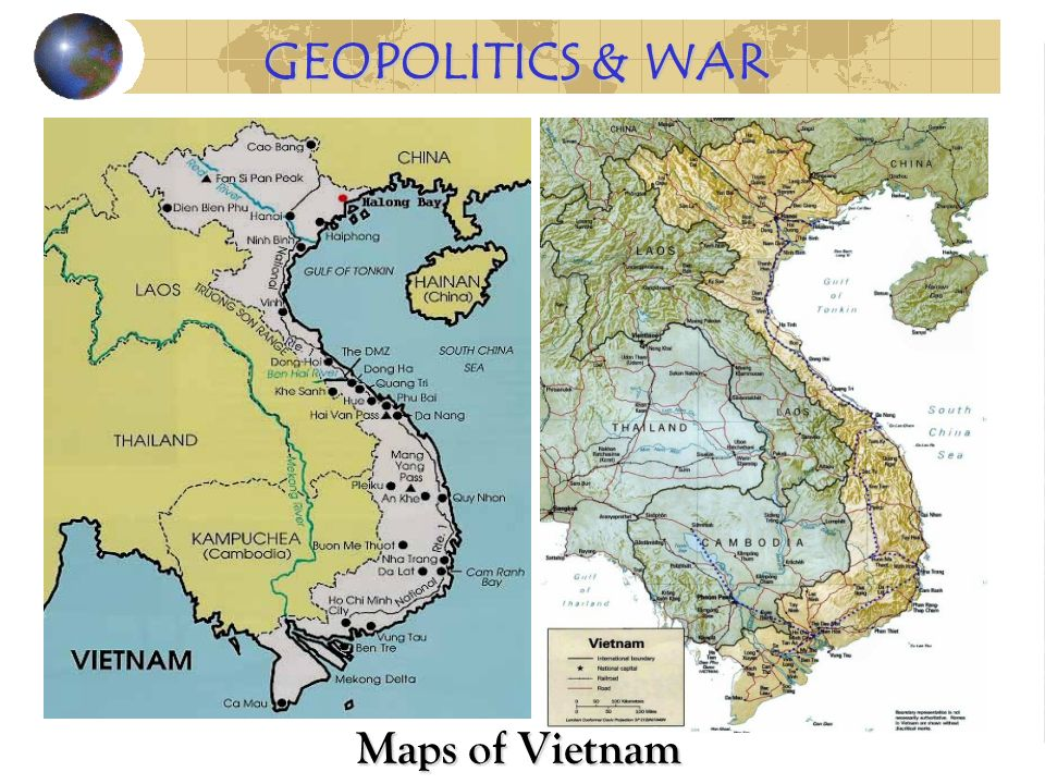Maps of Vietnam GEOPOLITICS & WAR