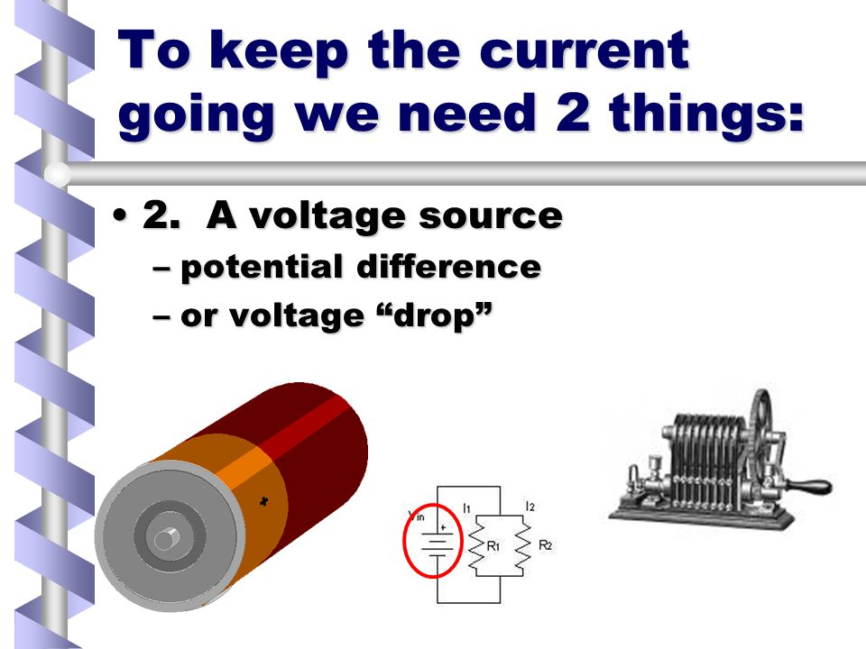 Drift Speed In a DC CircuitIn a DC Circuit –There is a steady push Even though the electrons arent flowing so very fastEven though the electrons arent flowing so very fast –They are moving –About 1 meter per hour