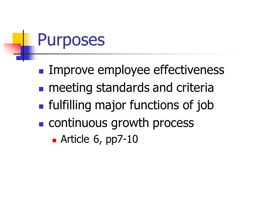 Evaluation Cycles Orientation Continuous Growth Assistance Induction Development Assistance