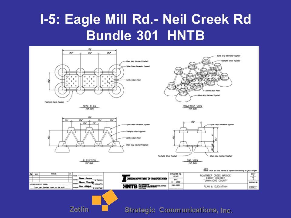 I-5: Eagle Mill Rd.- Neil Creek Rd Bundle 301 HNTB