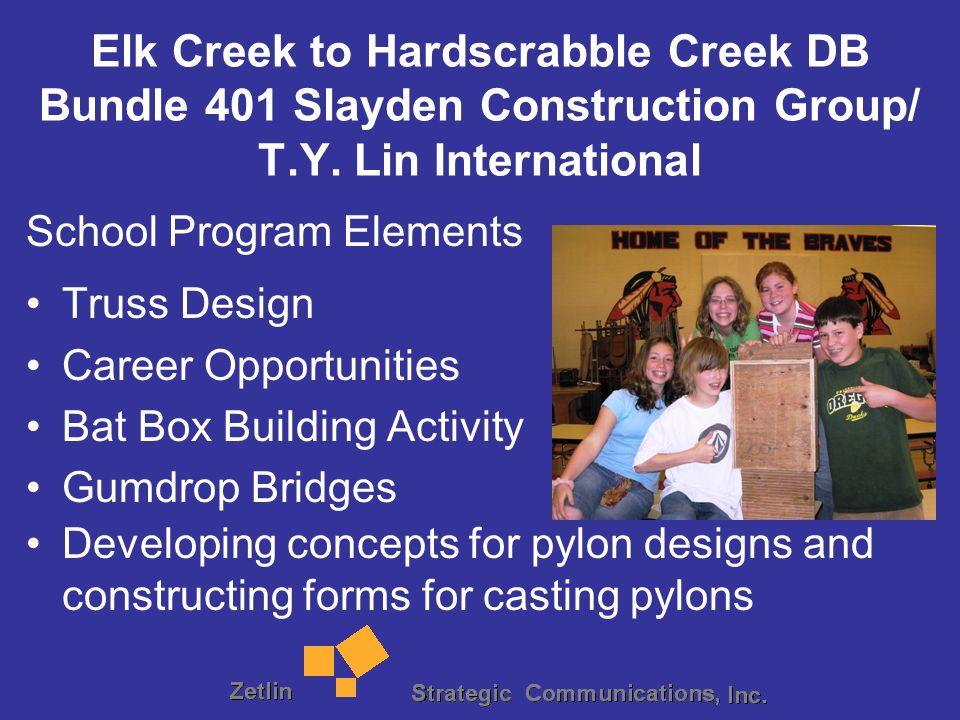 Elk Creek to Hardscrabble Creek DB Bundle 401 Slayden Construction Group/ T.Y.