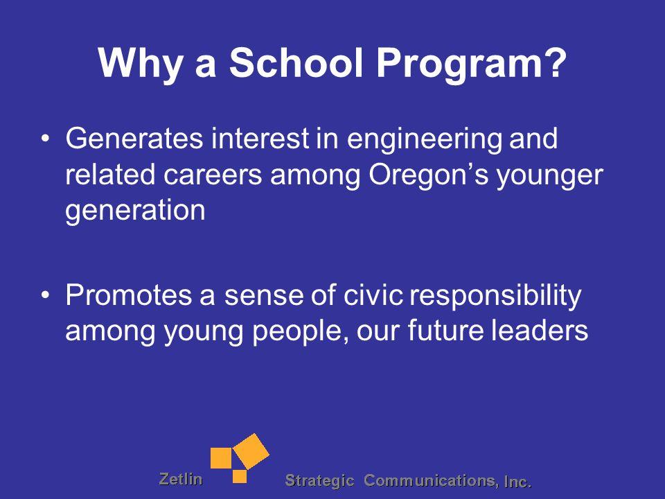 Why a School Program.