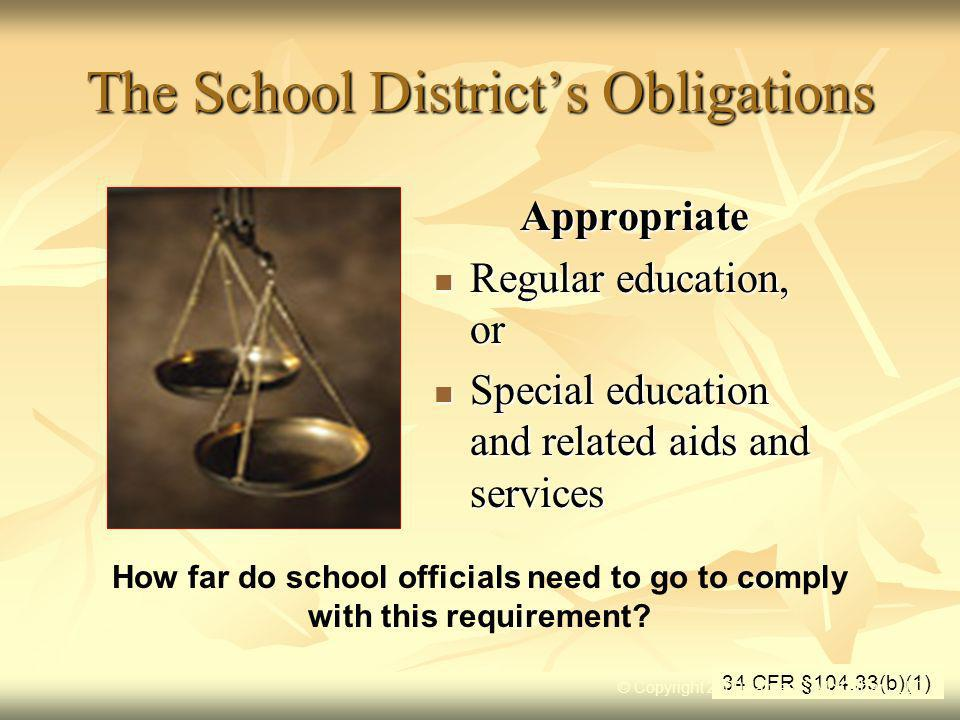 The 504 Eligibility Standard …When a school improperly identifies a student…It not only mislabels the student, it opens the door to a host of procedural obligations and potential legal liabilities Jim Walsh, Compliance Keys, Section 504 Compliance Advisor, April 2007 © Copyright 2009 James F.