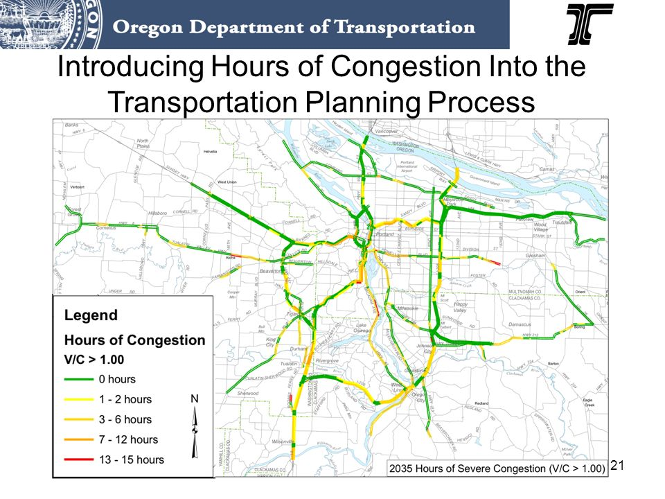 21 Introducing Hours of Congestion Into the Transportation Planning Process