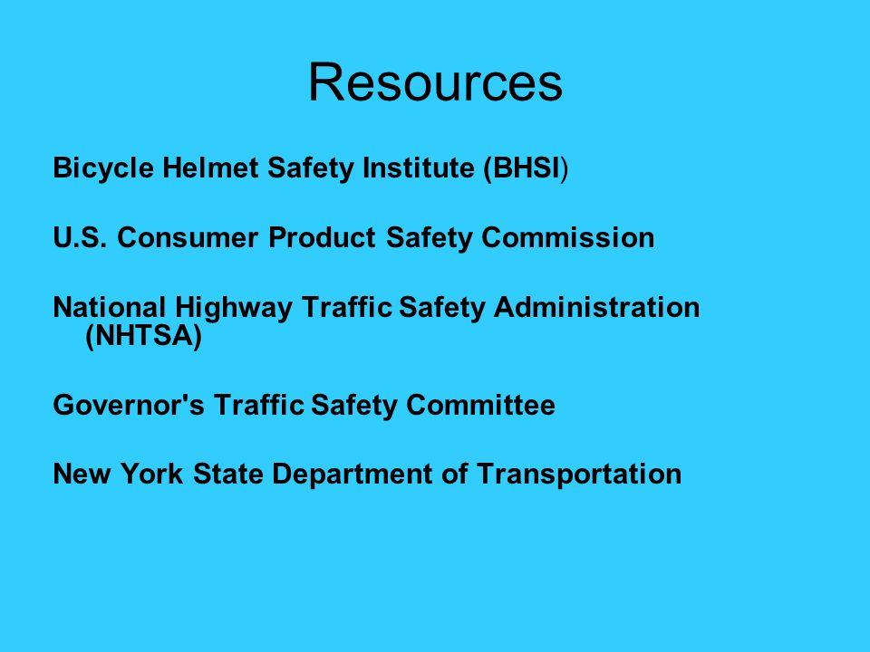 Resources Bicycle Helmet Safety Institute (BHSI) U.S.