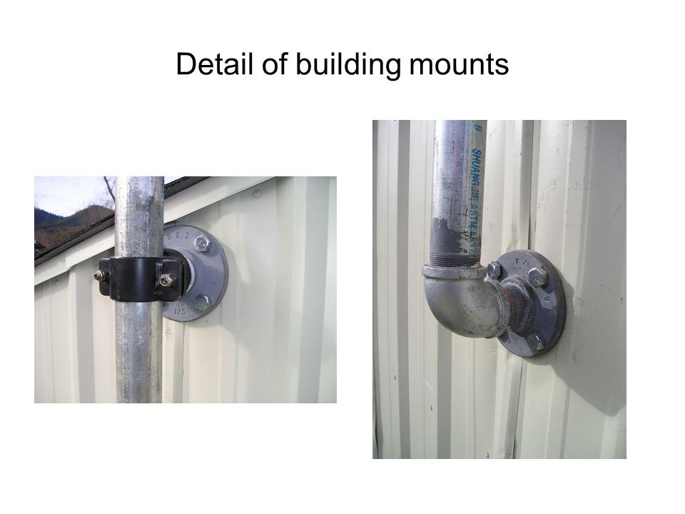 Plumb mast w/ carpenters level. Magnetic Carpenters level, 4 ft.