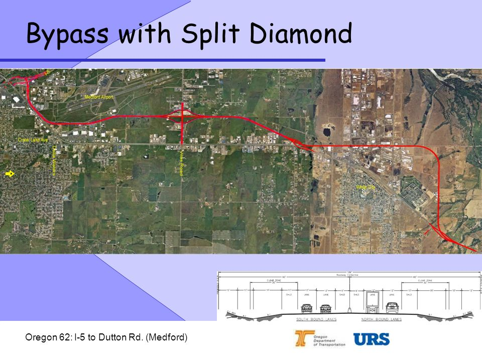 Oregon 62: I-5 to Dutton Rd. (Medford) Bypass with Split Diamond