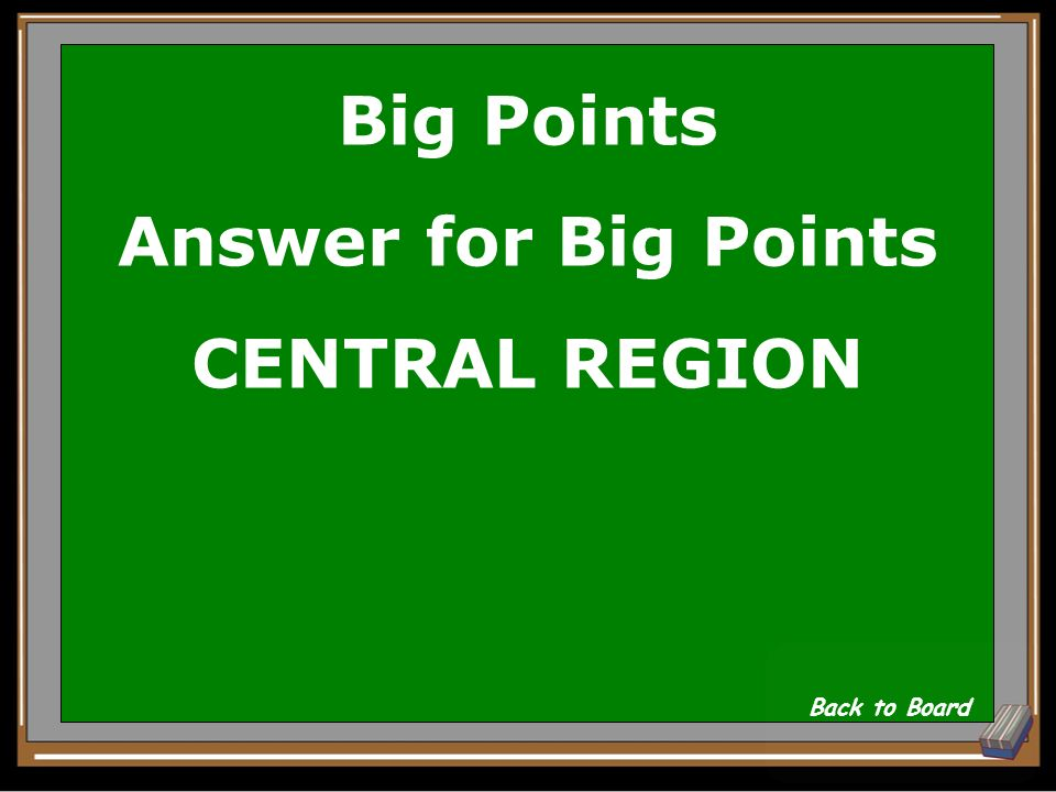 Big Points Question Which region is the BEST most fun, at Grant Wood AEA.