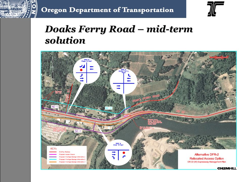 Doaks Ferry Road – mid-term solution