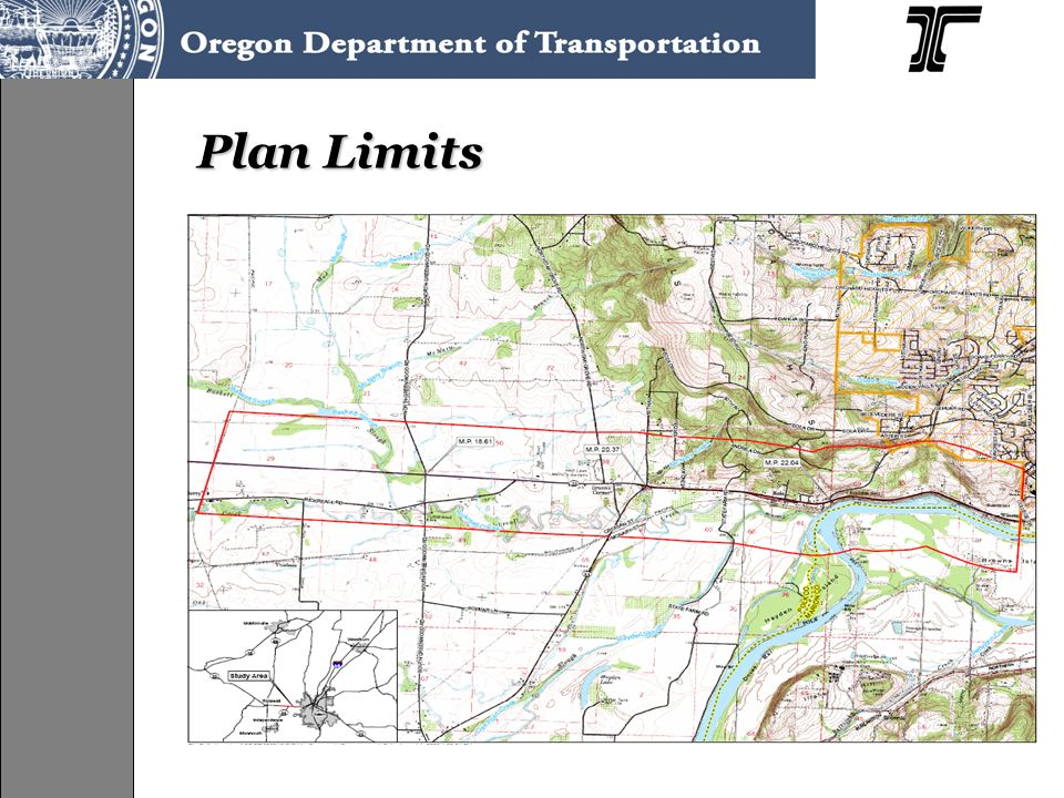 Issue Areas Identified in the Plan OR 22/Greenwood Road intersection OR 22/OR 51 intersection OR 22/Doaks Ferry Road intersection