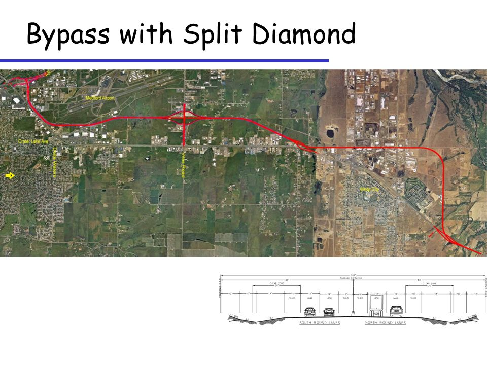 Bypass with Split Diamond