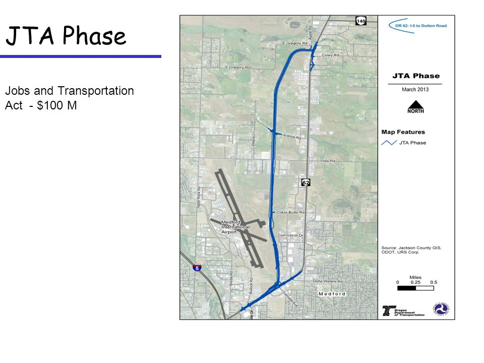 JTA Phase Jobs and Transportation Act - $100 M