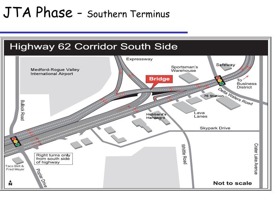 JTA Phase - Southern Terminus