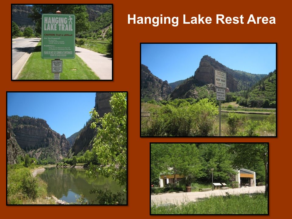 Hanging Lake Rest Area