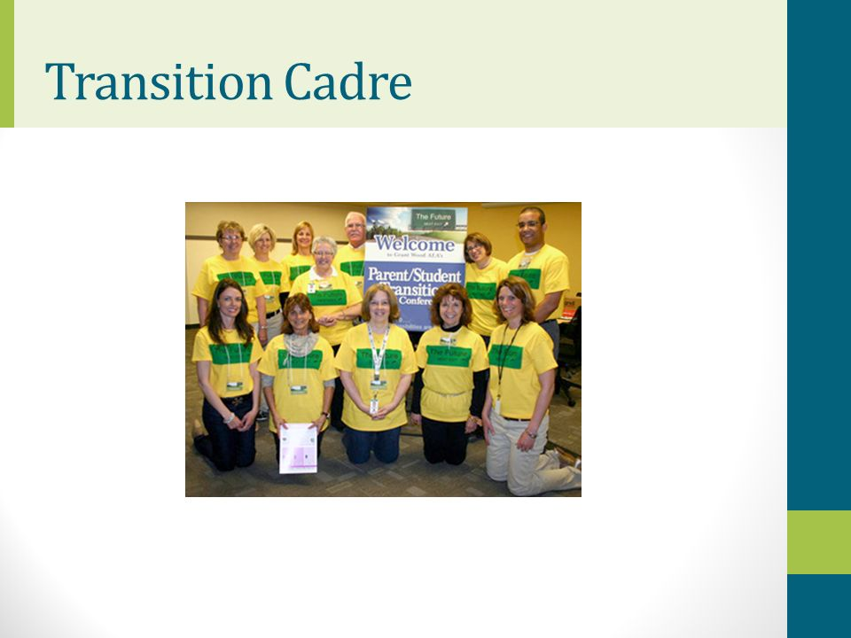 Transition Cadre