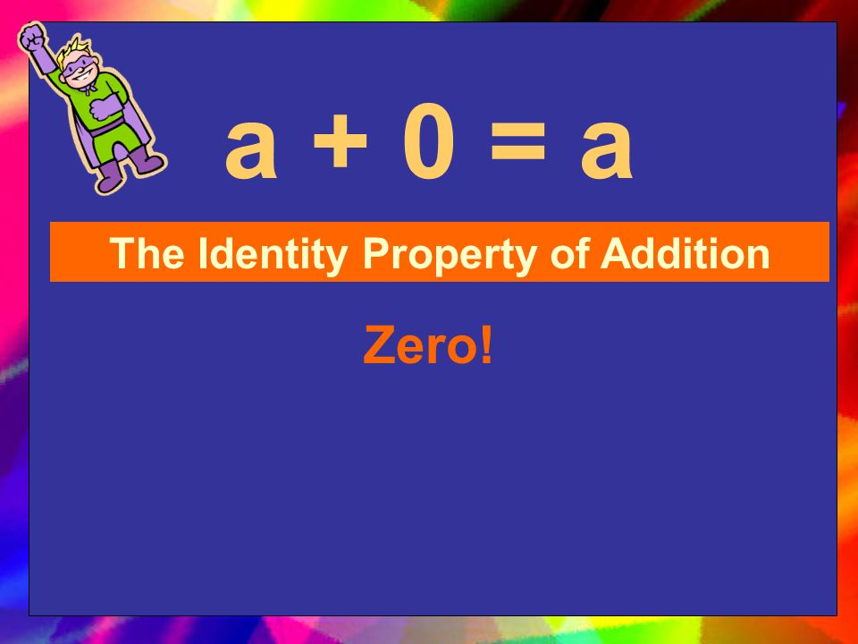 (4 + 3) + 2 = 4 + (3 + 2) The Associative Property of Addition It has parentheses!