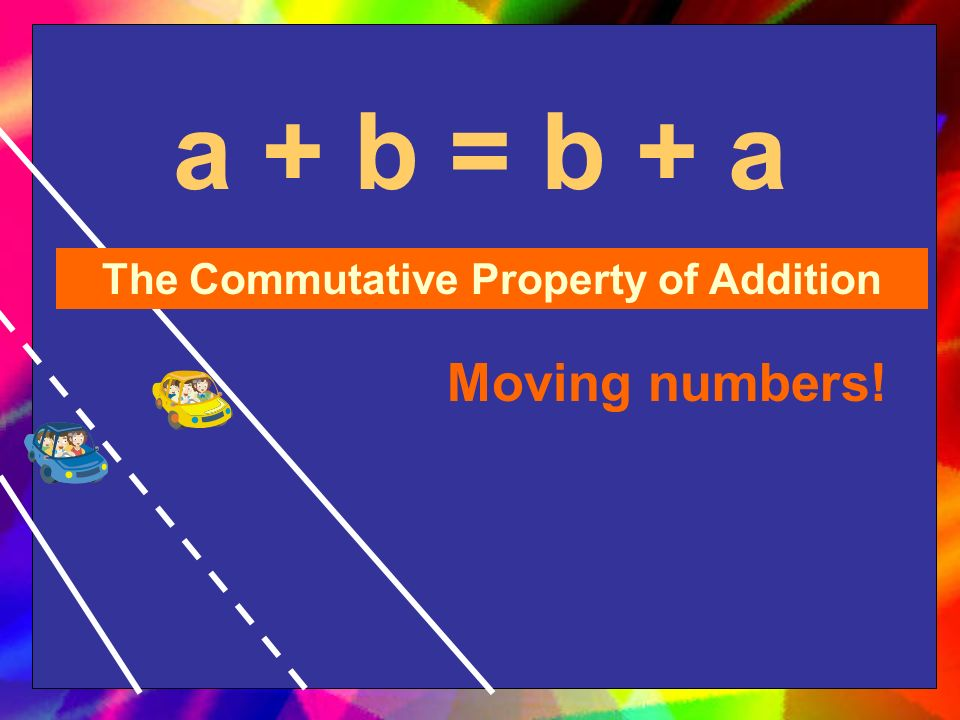 a + 0 = a The Identity Property of Addition Zero!