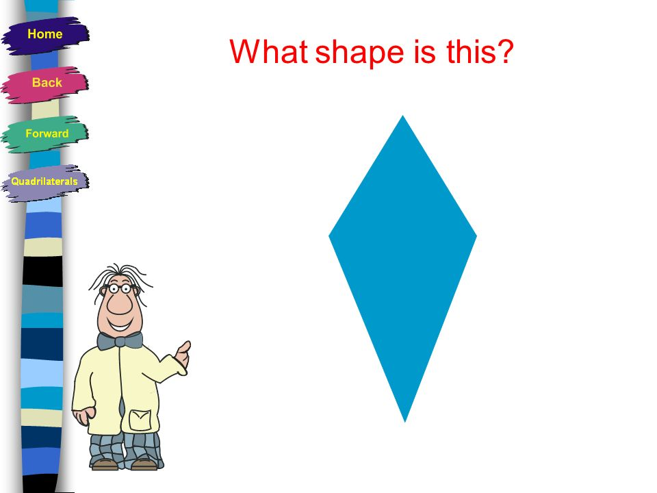 Properties of a Trapezoid Has unequal sides One pair of opposite sides are parallel Usually has NO lines of symmetry Is an irregular shape