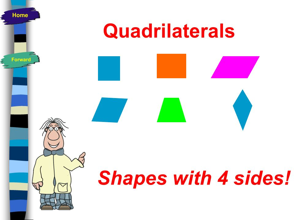 Shapes Quadrilaterals Triangles Polygons Key Words Regular Shapes