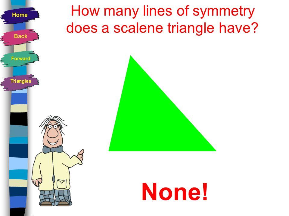 A Scalene Triangle