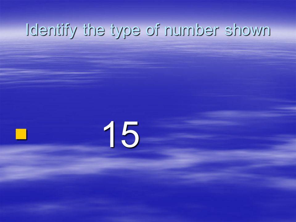 Composite Number Composite Number 15= 15= 1,3,5,15 1,3,5,15