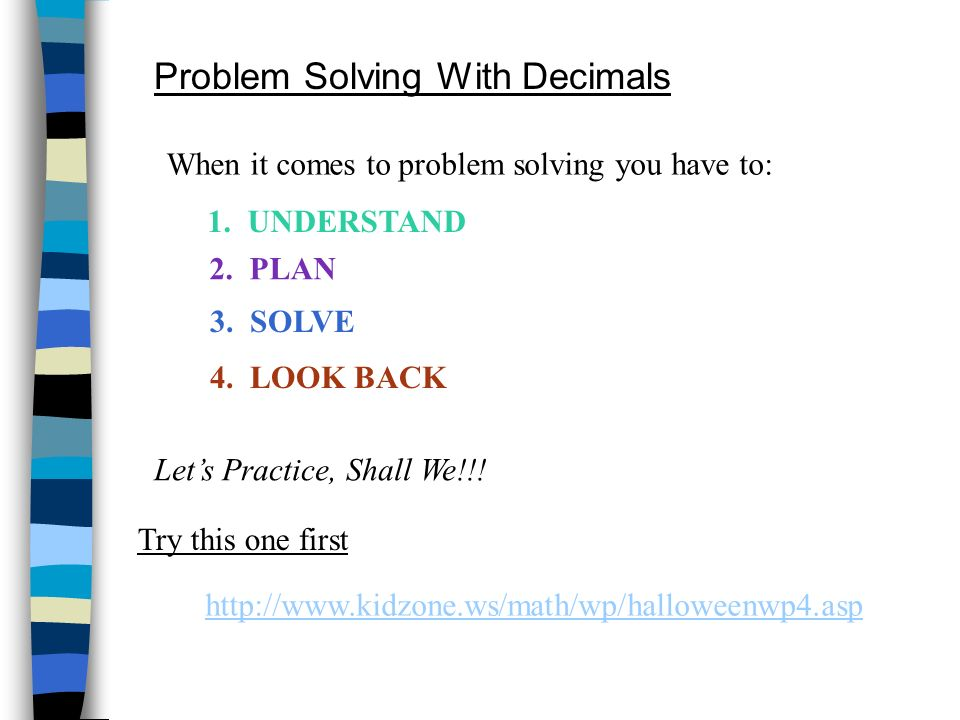 Adding & Subtracting Decimals The most important thing to remember when adding & subtracting decimals is to ________________________ LINE UP THE DECIMAL POINTS!!.