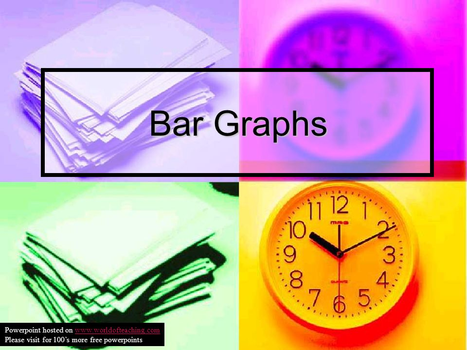 Bar Graphs Powerpoint hosted on www.worldofteaching.comwww.worldofteaching.com Please visit for 100s more free powerpoints