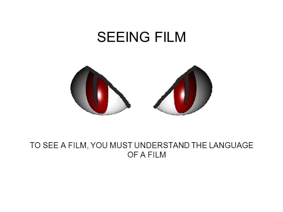 Why make films? Films Entertain Films Teach Films Inform FILMS COMMUNICATE!!!