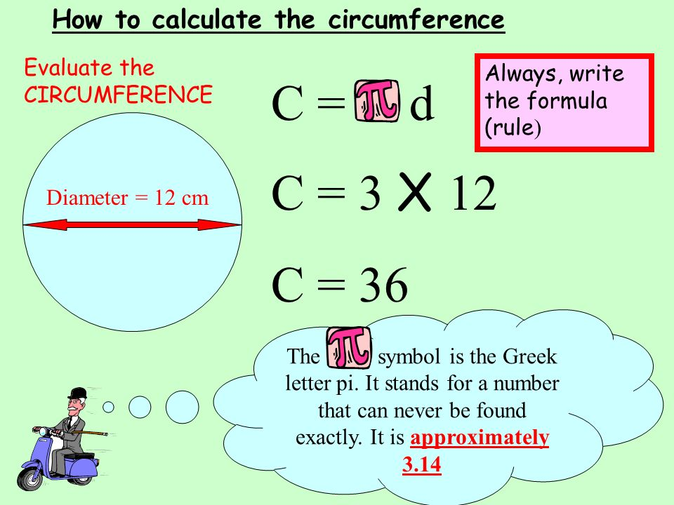 Calculate the Circumference Using the Correct Formula Level 6