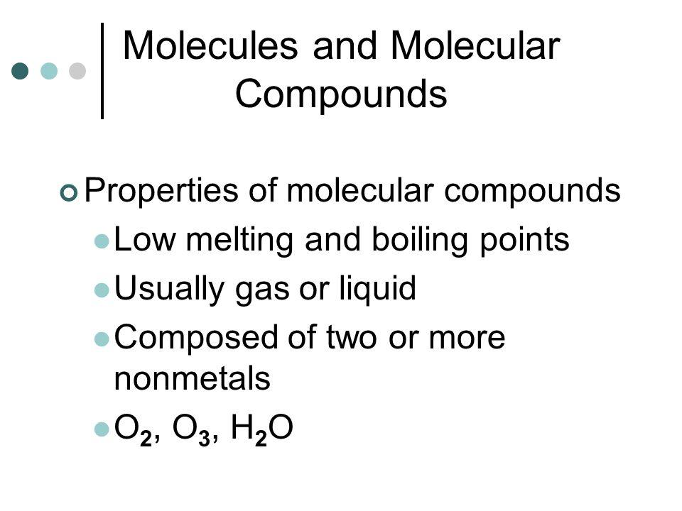 How Do We Name Molecular (covalent) Molecules.