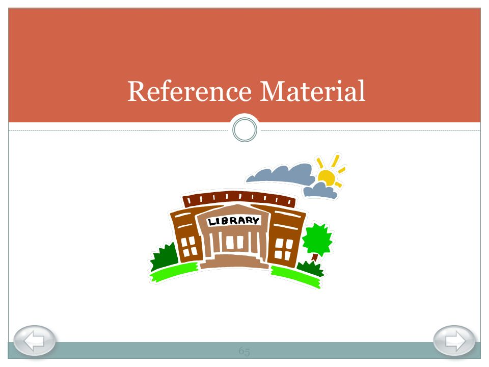 Reference Material 65