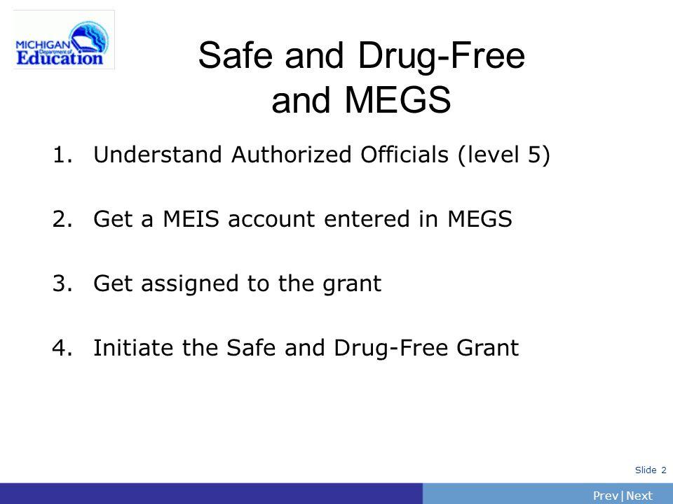 PrevNext   Slide 2 1. Understand Authorized Officials (level 5) 2.
